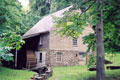 Stratford Hall's working water-powered gristmill